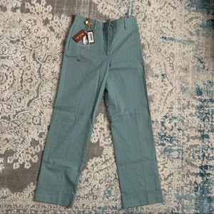 Loro Piana Jari Cuffed Hems Ankle Pants
